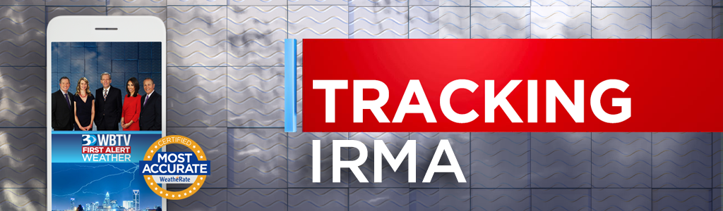Image Rich Text You can track Irma with the WBTV First Alert Weather