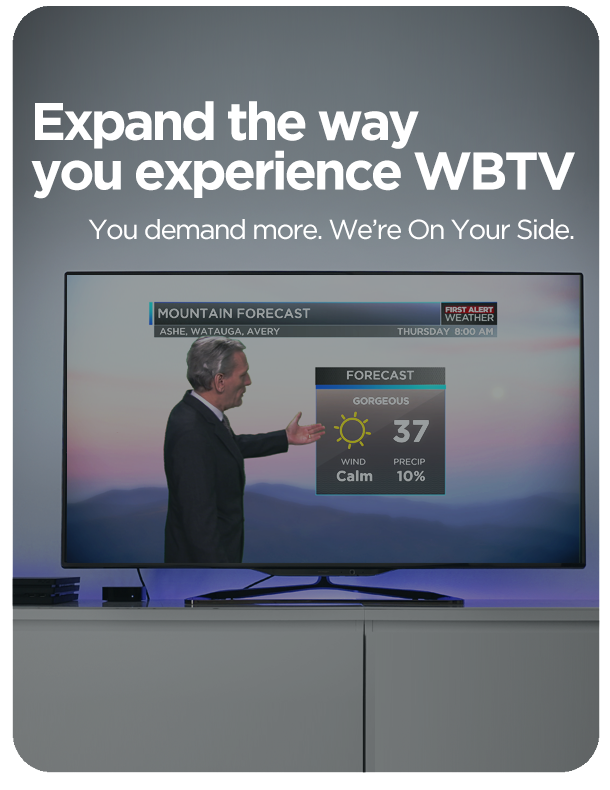 download wbtv's roku app to watch special streaming content