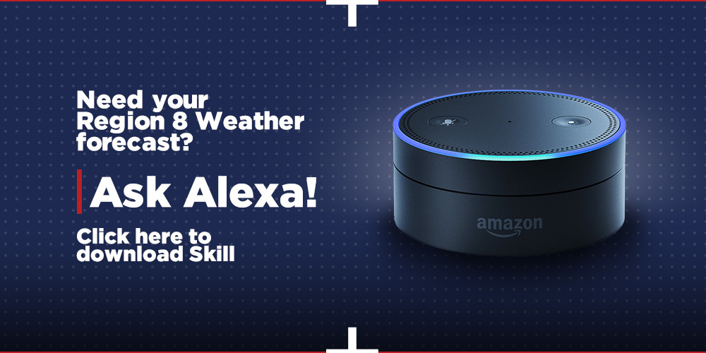 Install the Region 8 Weather Alexa Skill