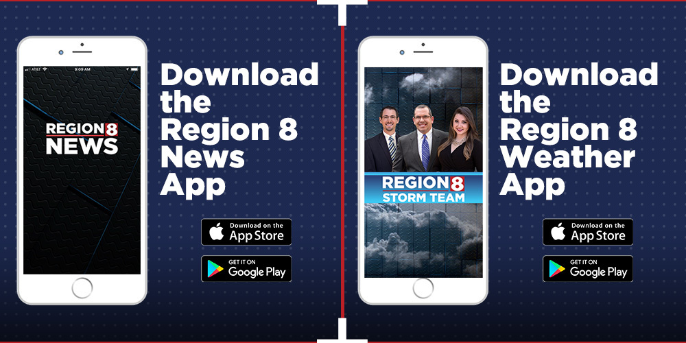 Download the Region 8 News & Weather Apps