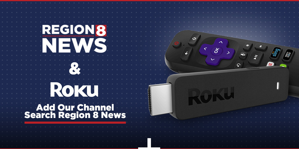 Install the Region 8 News channel on Roku