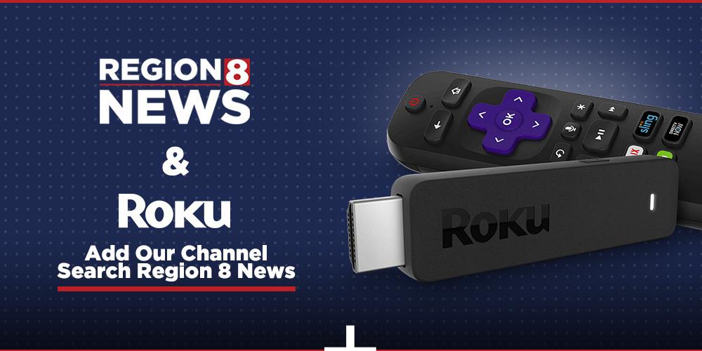 Install the Region 8 News channel on Roku
