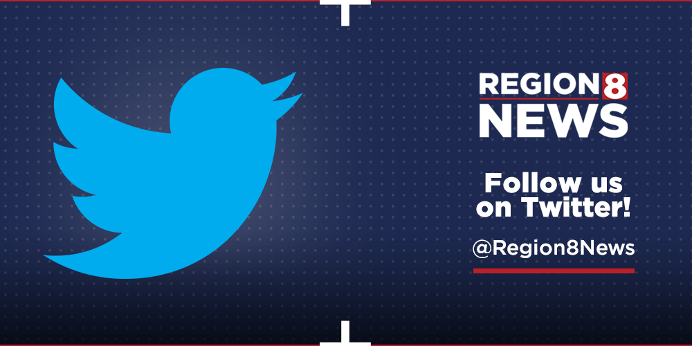 Follow Region 8 News on Twitter
