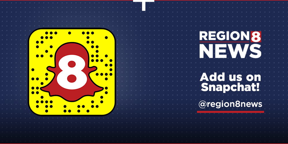 Add Region 8 News on Snapchat