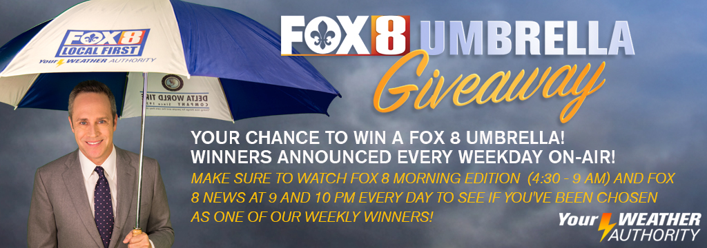 Fox8live umbrella