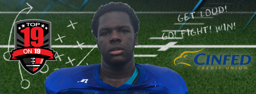 Anthony Booker, Defensive End, Winton Woods High School