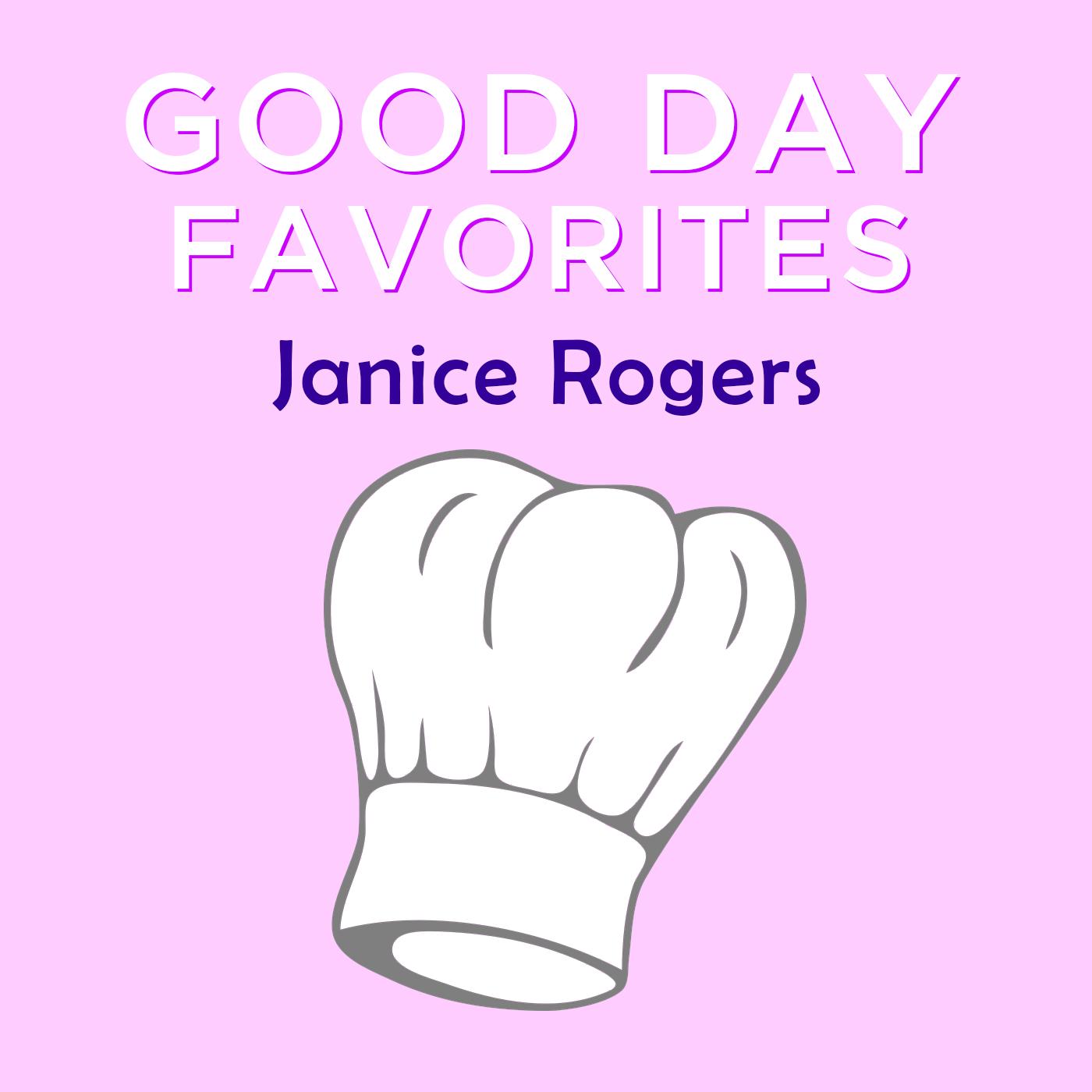GDA Cookbook Janice Rogers Favorites