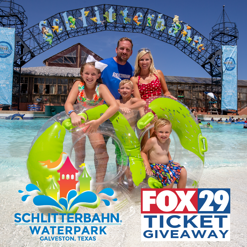 Enter To Win A Family 4 Pack Of Tickets To Schlitterbahn