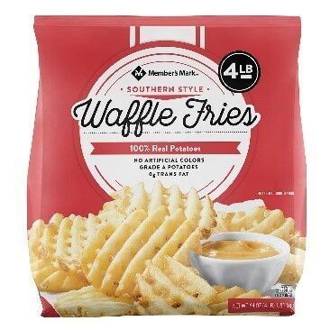 Southern Style Waffle Fries
