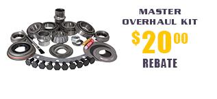 Yukon Master Overhaul Kits - $20 Rebate