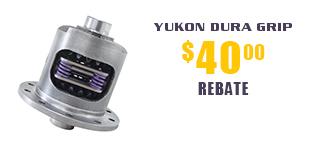 Yukon Dura Grip - $40 Rebate