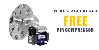 Yukon Zip Lockers - FREE Air Compressor