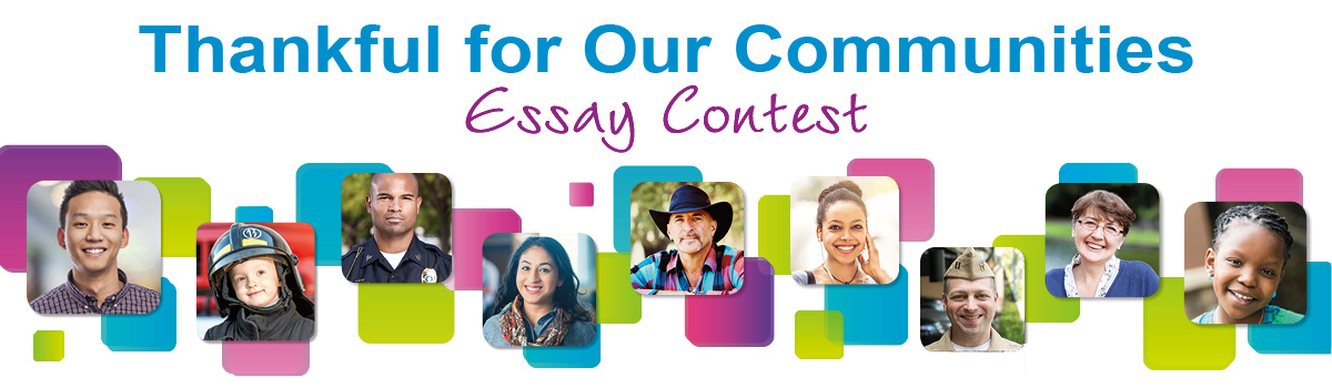 Thankful for Our Communities Essay Contest