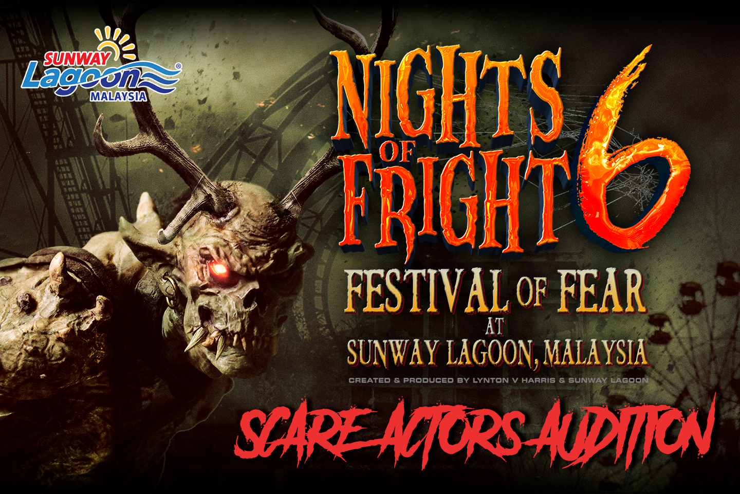 Nights of Fright 6 | Scare Actor Audition
