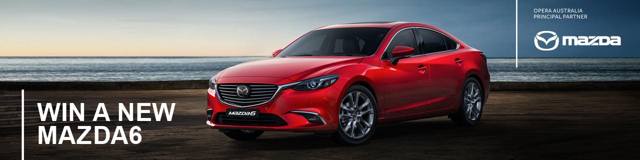 Win a new Mazda 6 with Opera Australia