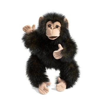 Full Body Baby Chimp Puppet by Folkmanis Puppets $28.79