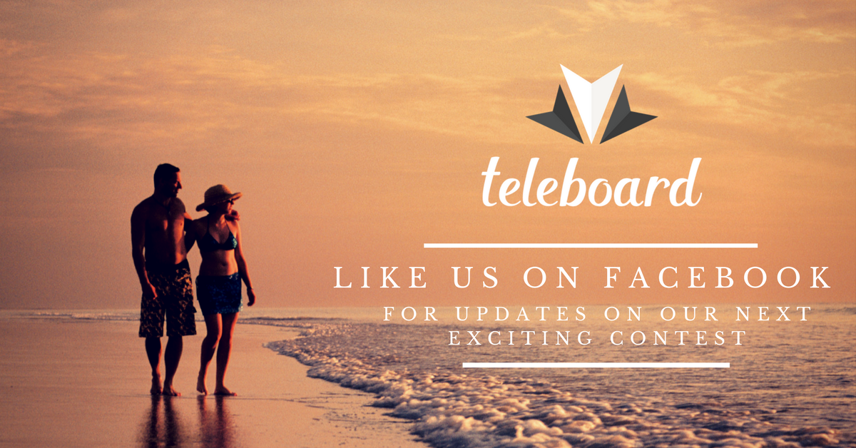 Teleboard Sweepstakes - Like us on Facebook