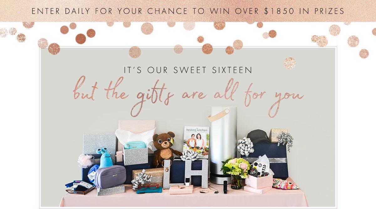 Lauren's Hope Sweet Sixteen Giveaway