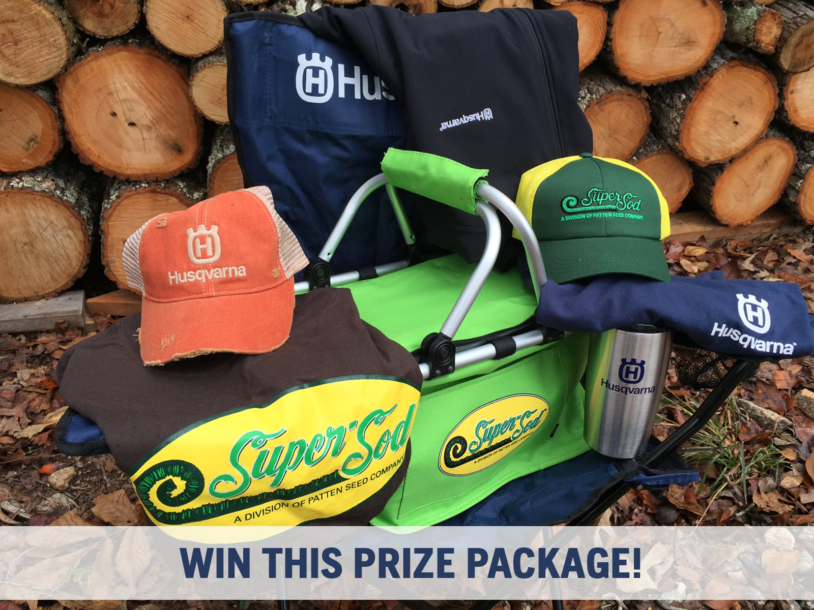 Prize Package with Husqvarna and Super-Sod