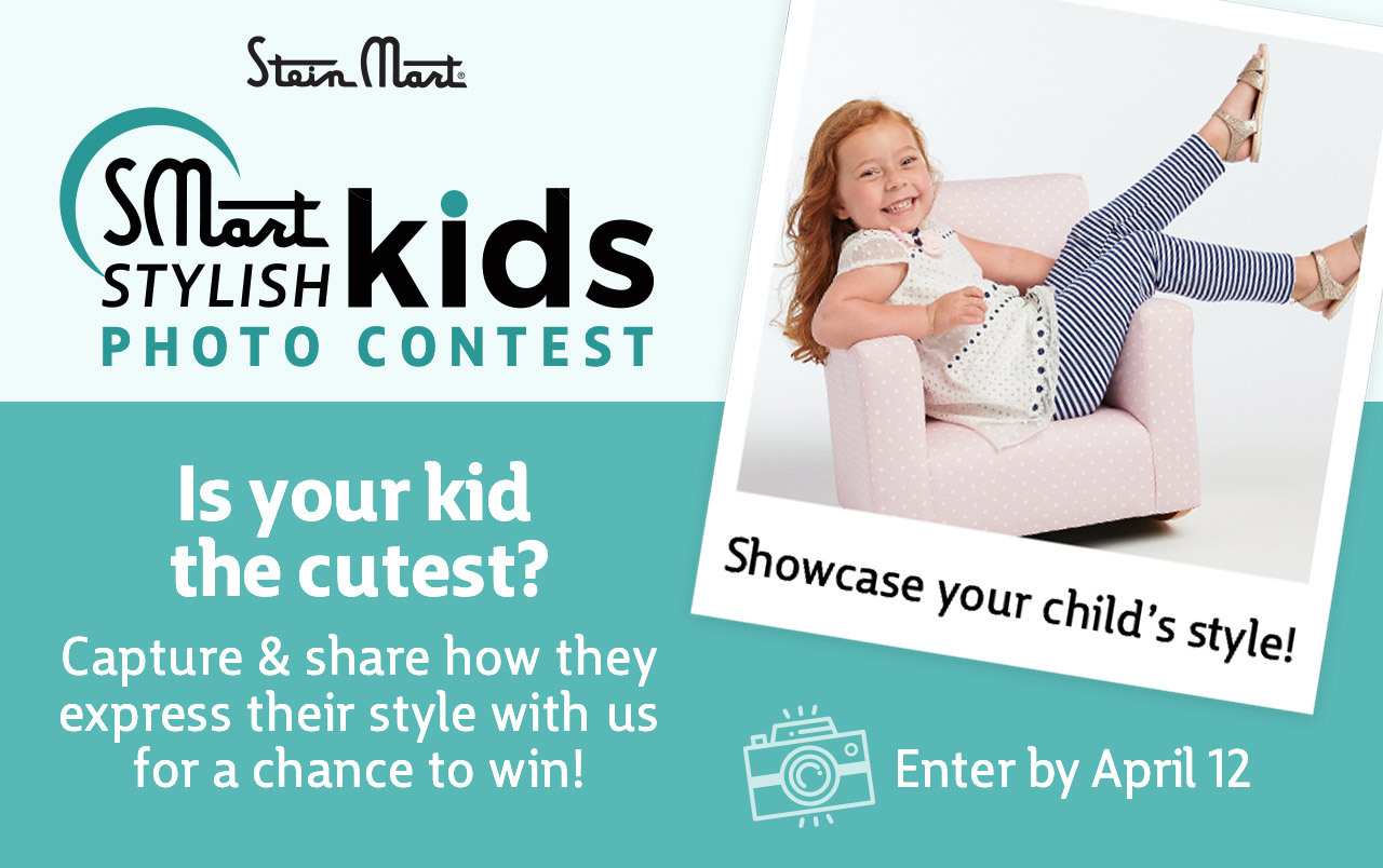 Stein Mart Stylish Kids Photo Contest | Is your kid the cutest? Capture & share how they express their style with us for a chance to win! | Enter by April 12