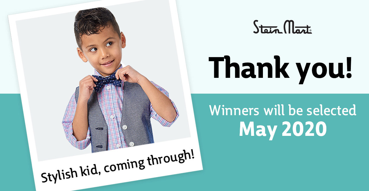 Stein Mart | Thank you! Winners will be selected May 2020