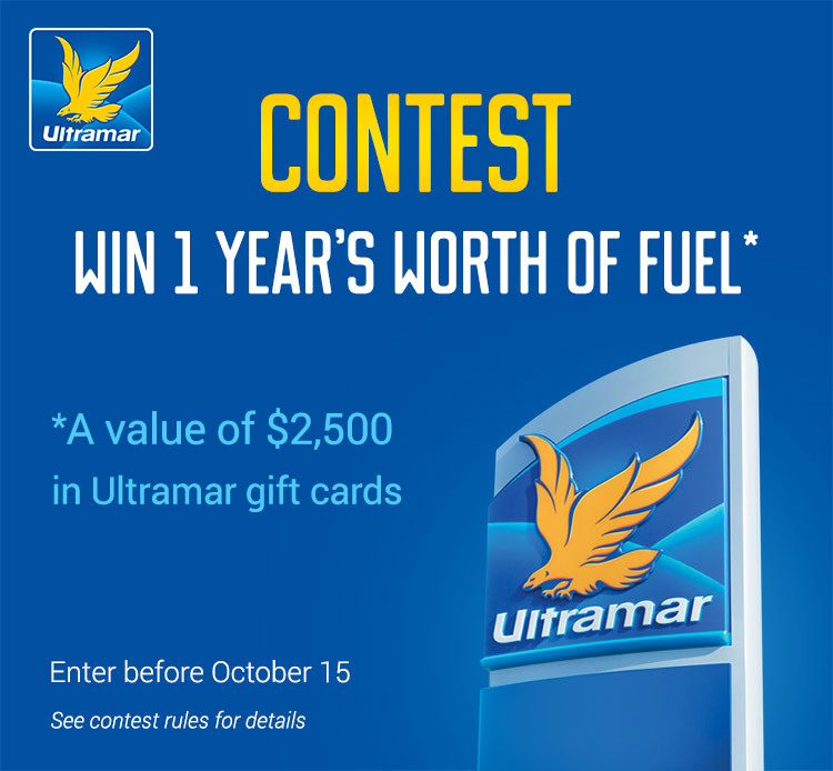 Contest Win 1 year's worth of fuel, participate before October 15th