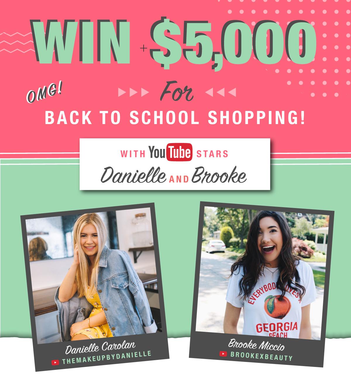 Jacksonville Mall 5000 Back To School Shopping Spree