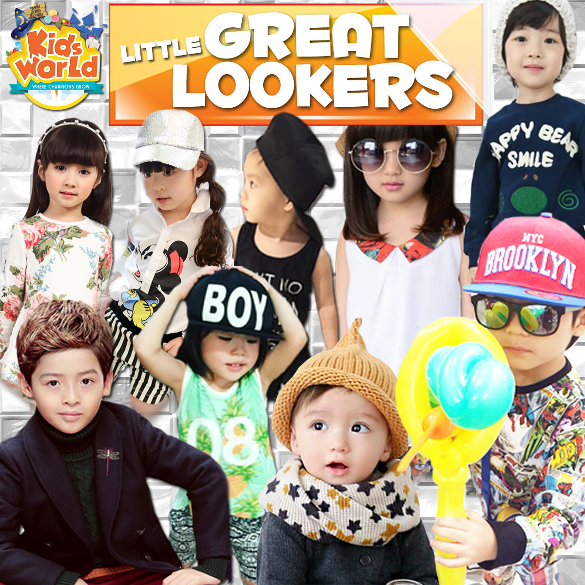 Kids World Look Book Photo Contest