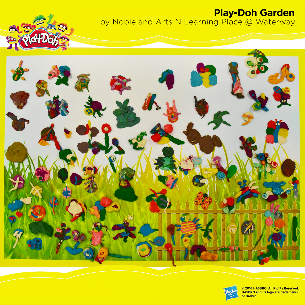 Play-Doh Garden by Nobleland Arts N Learning Place @ Waterway