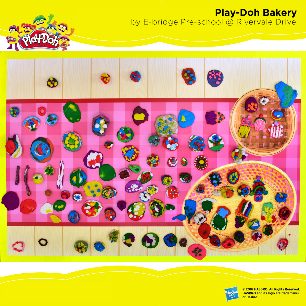 Play-Doh Bakery by E-bridge Pre-school @ Rivervale Drive