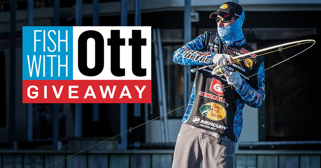 Enter to Win the Fish with Ott Giveaway