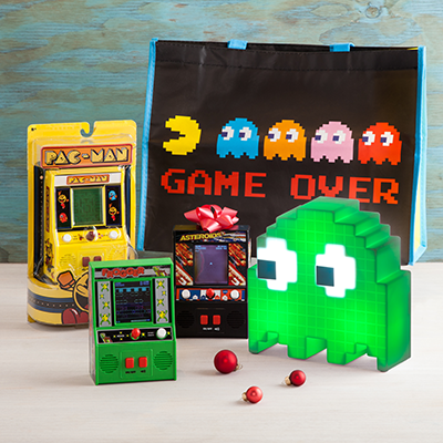 Gamers Gadgets Mini Arcades Frogger Pac-Man Asteroids