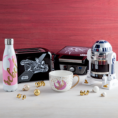 Star Wars Rebel Water Bottle Rebel Mug Toaster Waffle Maker R2D2 Frenchpress