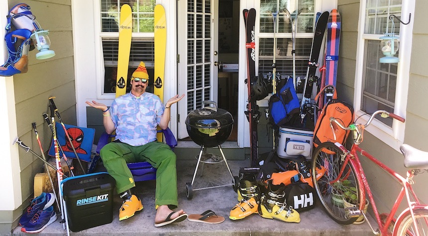 Paddy O'Connell takes on the perplexities of summertime livin' as a ski bum.