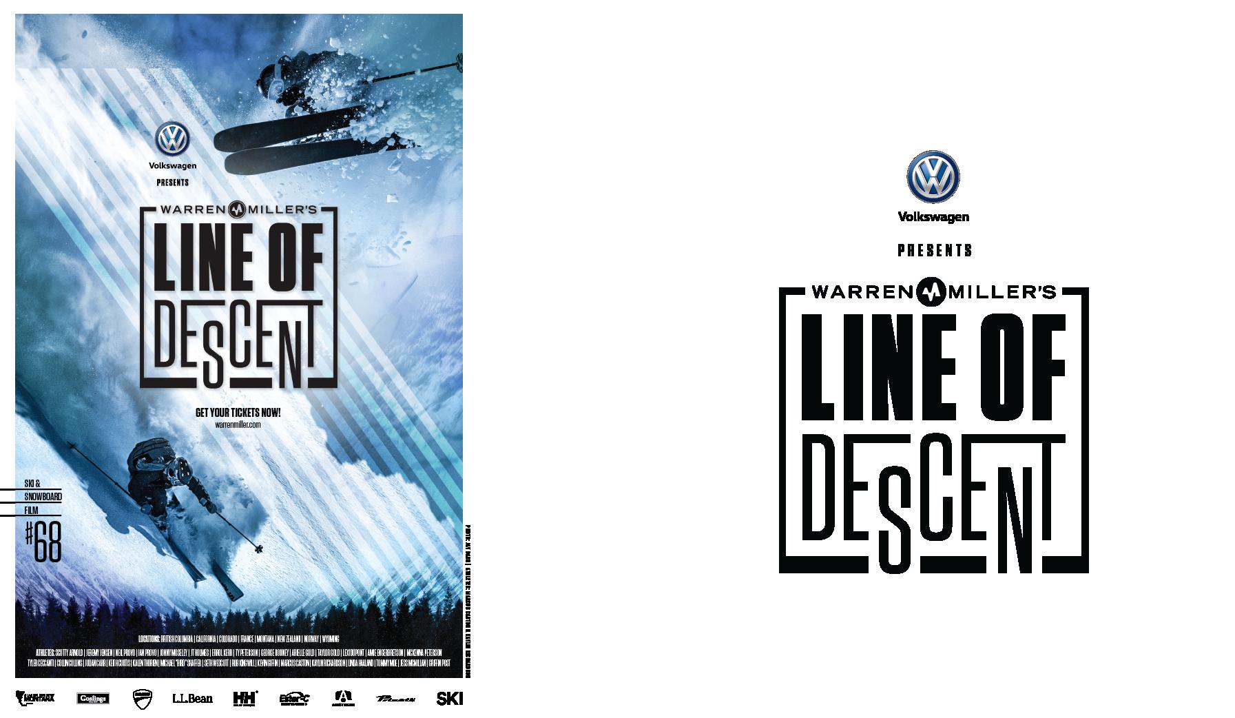 Warren Miller's Line of Descent Poster