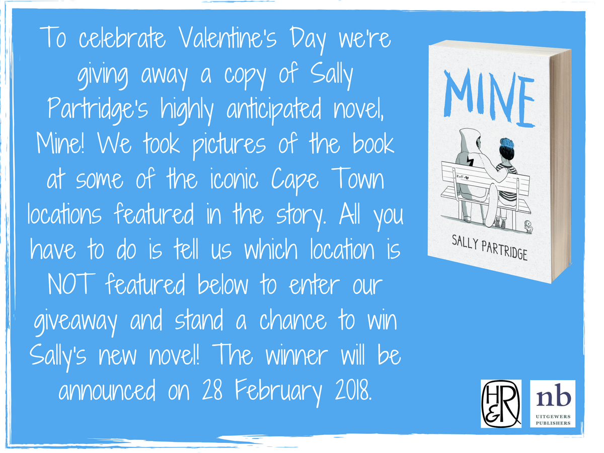 Win a copy of Mine by Sally Partridge!