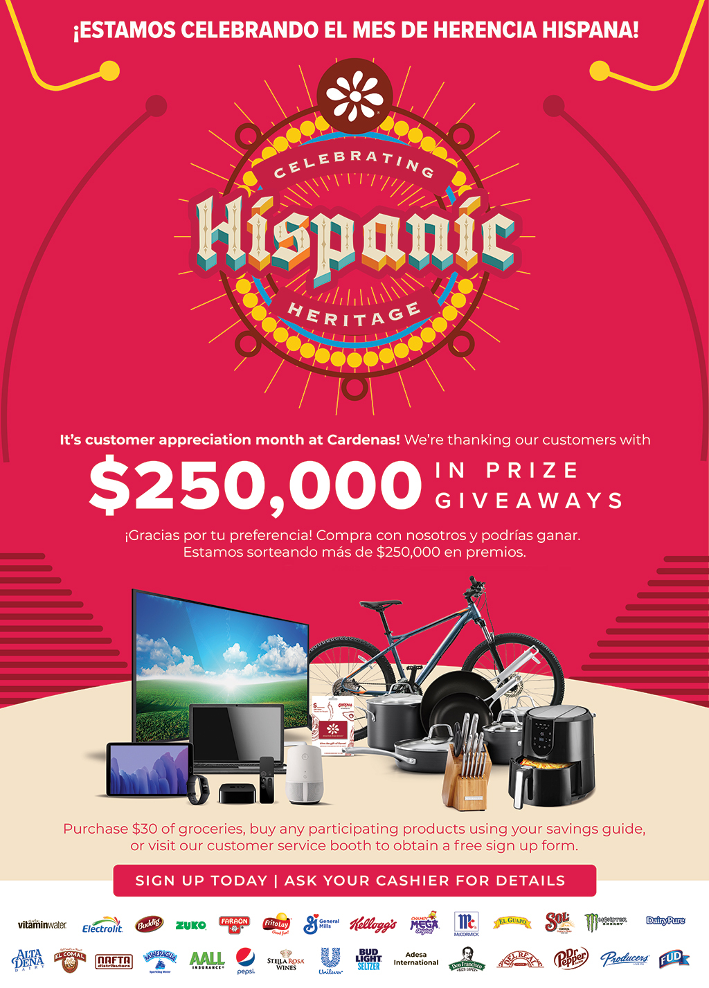 Hispanic Heritage Sweepstakes Image