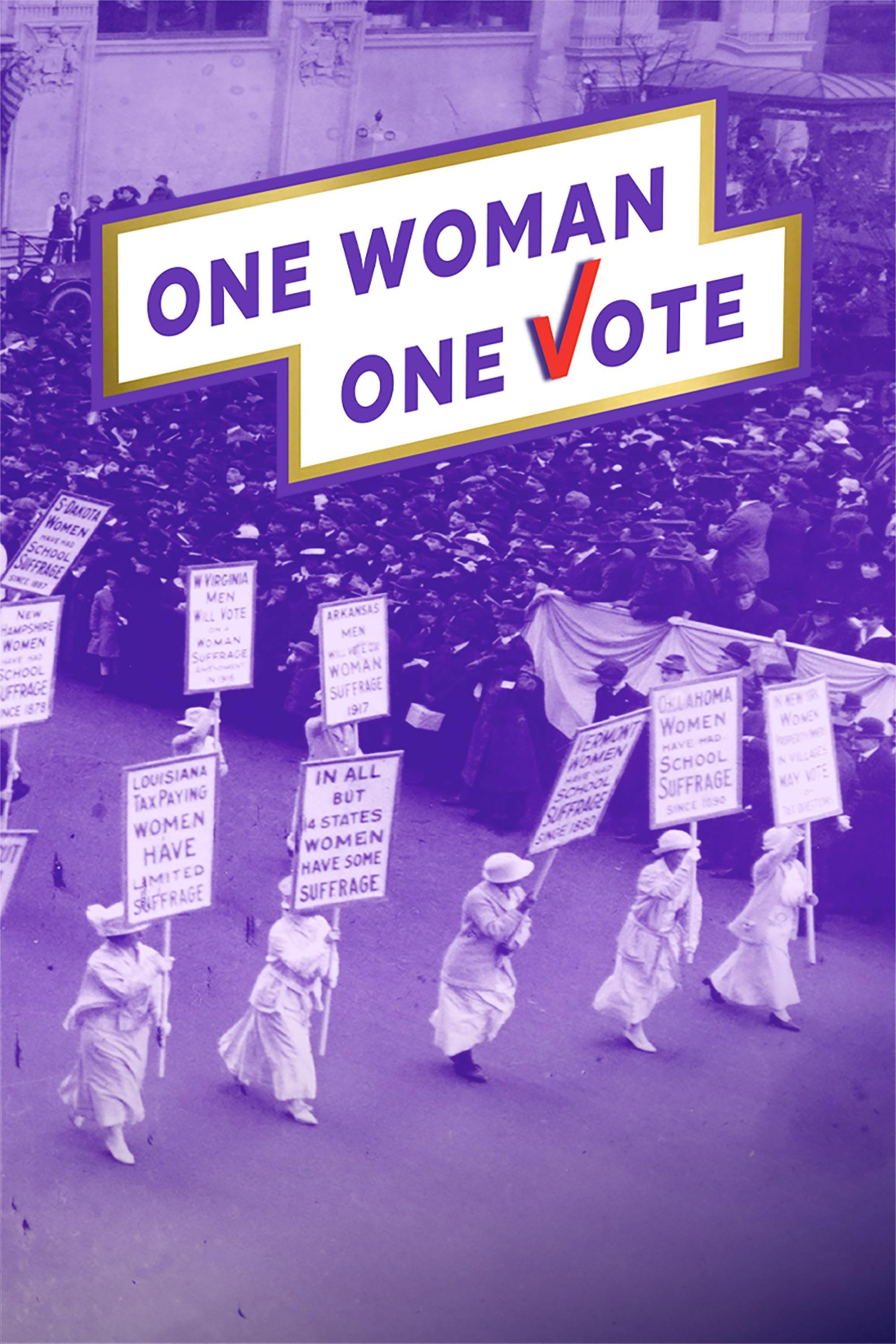 One Woman, One Vote poster