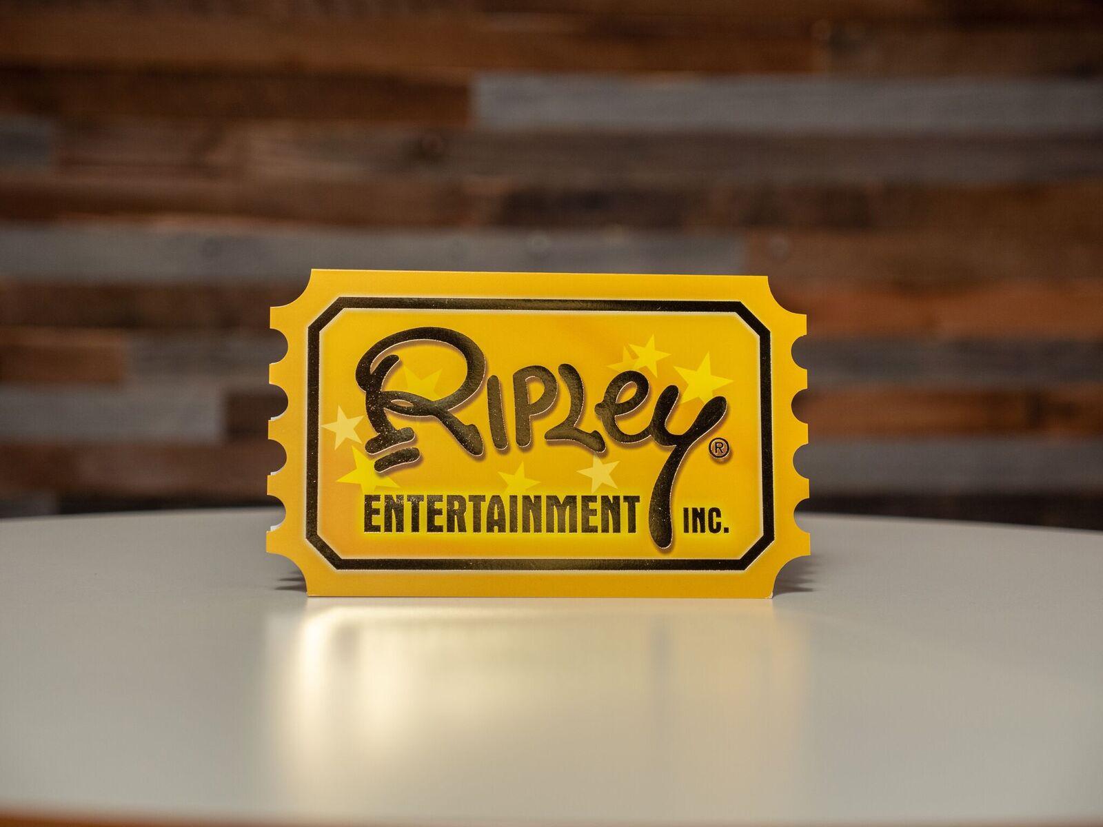 Ripley's Golden Ticket