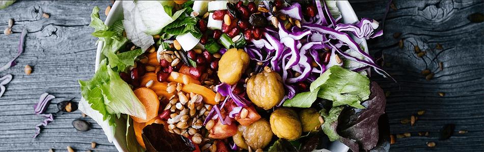 Vegan Salade à Gärtnerei