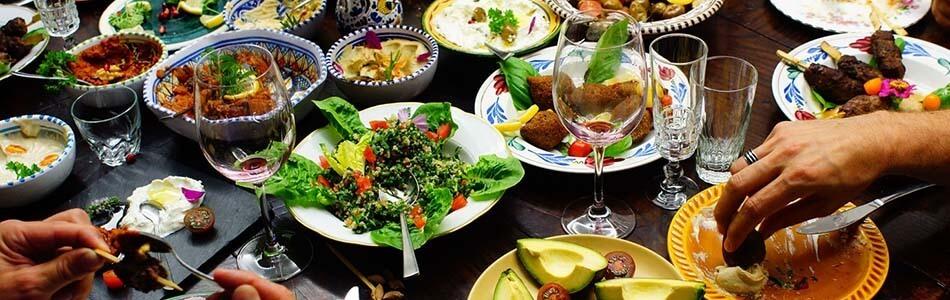 Veganes Mezze Buffet à EAT.ch