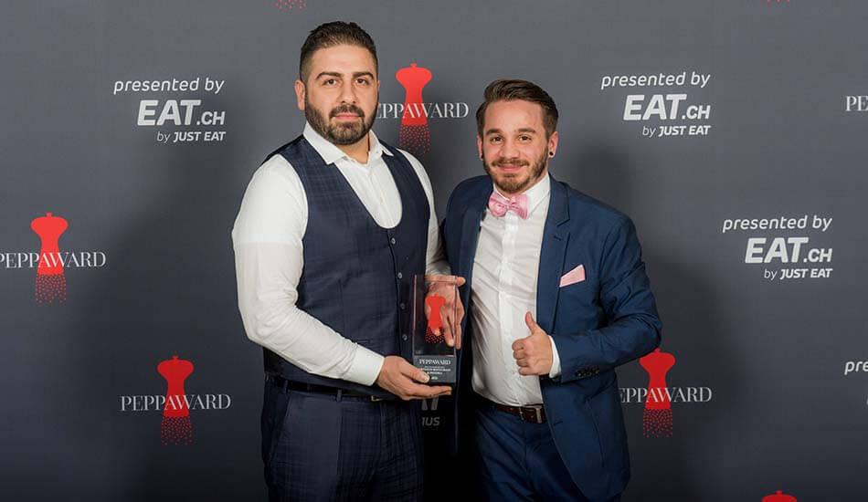 Die Gewinner des Best of Zentralschweiz Peppawards