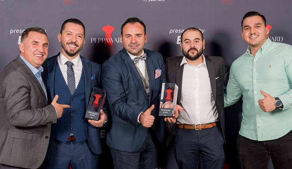 Die Gewinner des Best Restaurant Peppawards