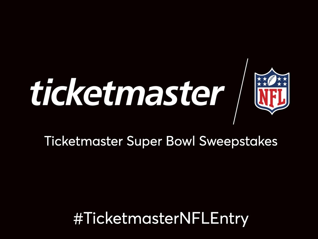 Ticketmaster Trip to Super Bowl LIII Sweepstakes