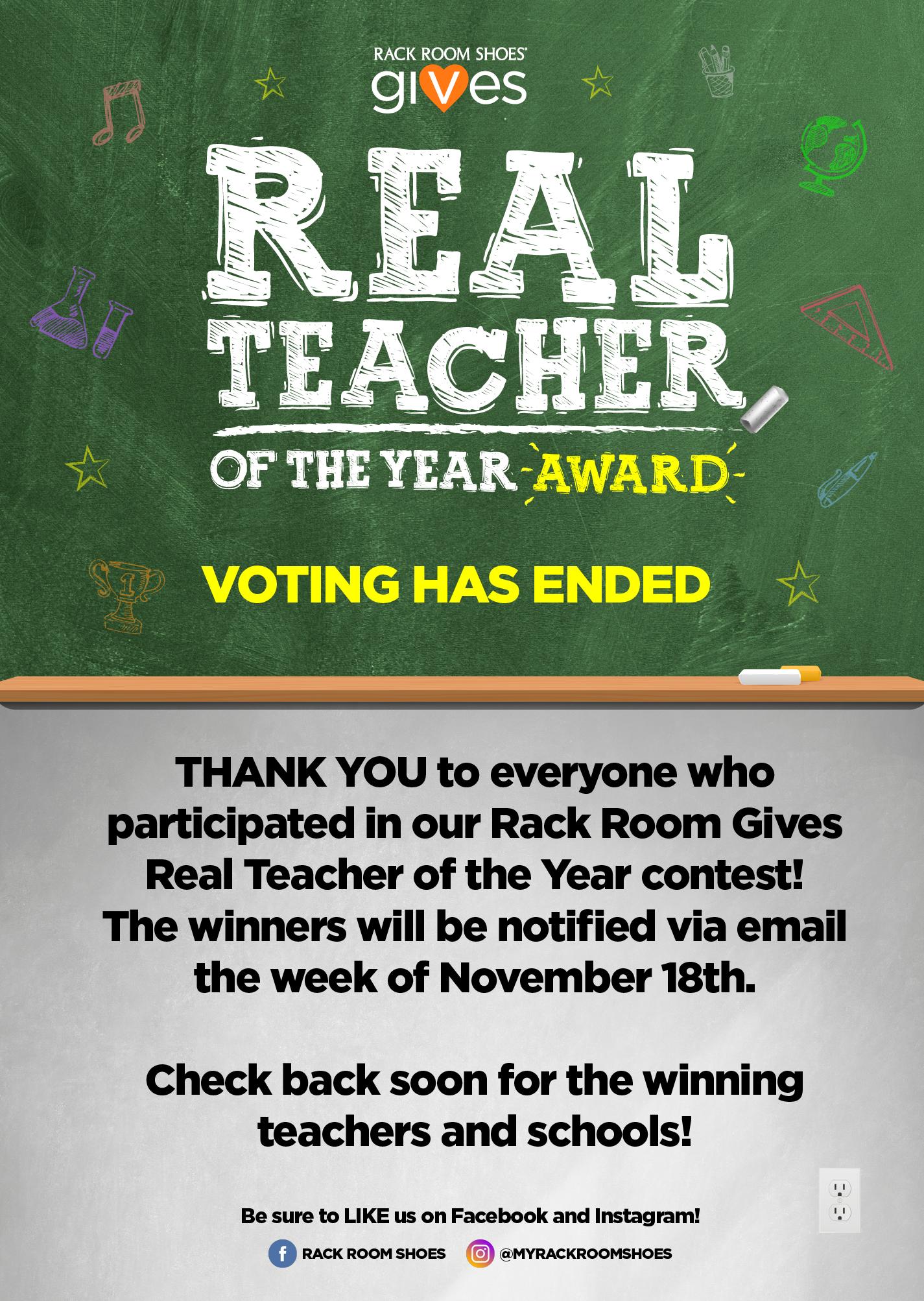 Real Teacher Of The Year Award