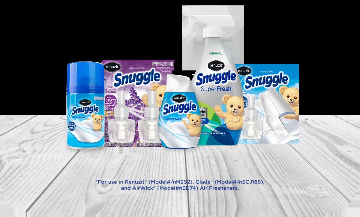 Renuzit® Snuggle® Air Care Sample Product Line