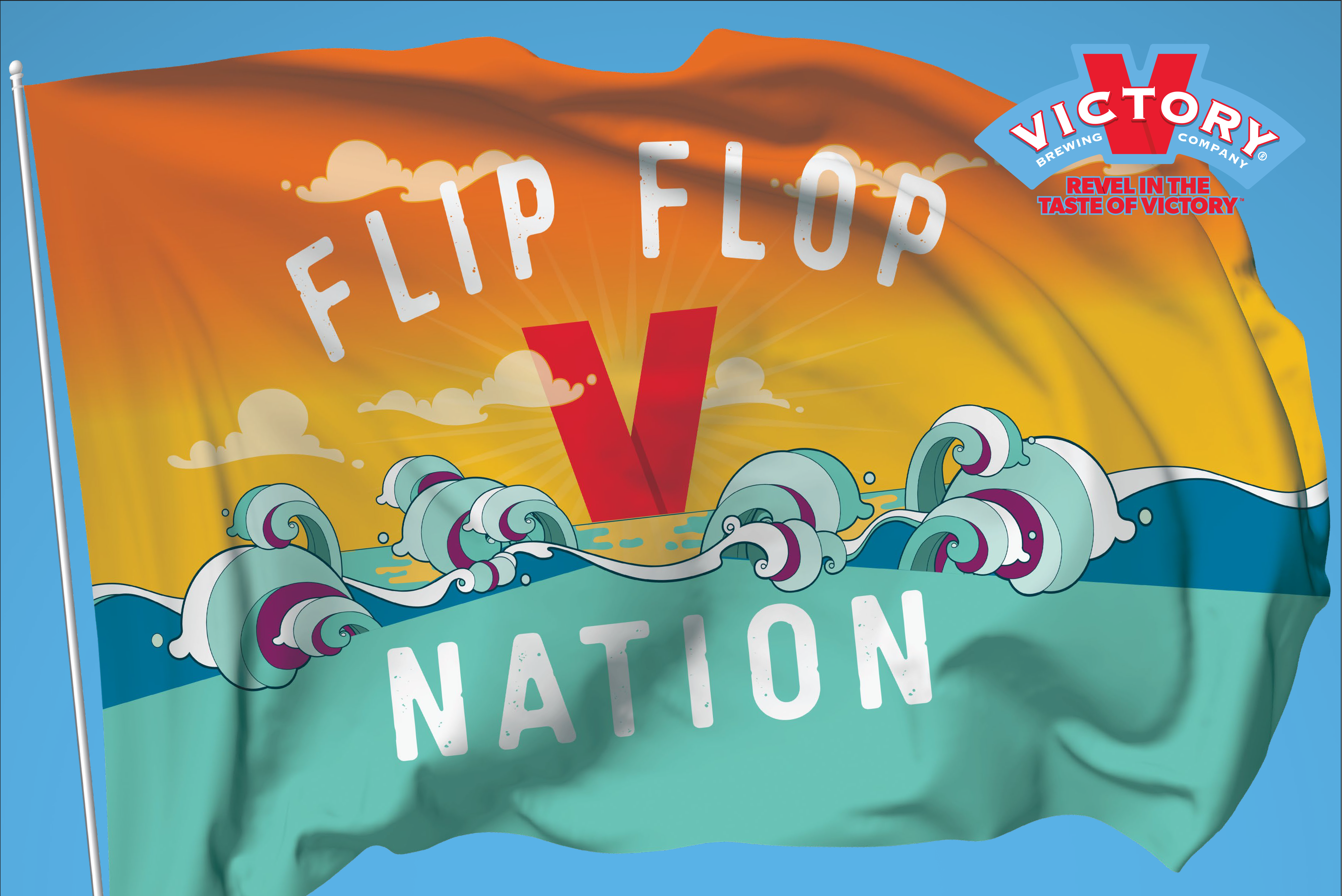 Victory Brewing Company - Flip Flop Nation