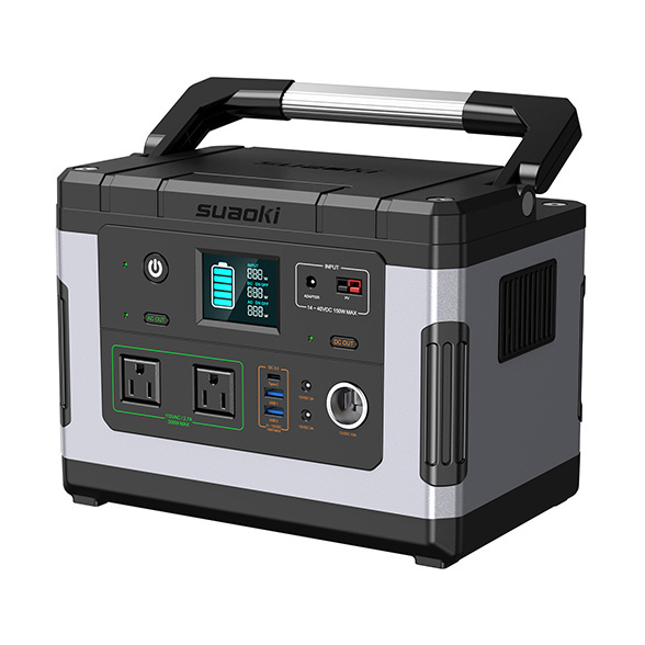 SUAOKI G500 Portable Power Station 500Wh Camping Generator Backup Power