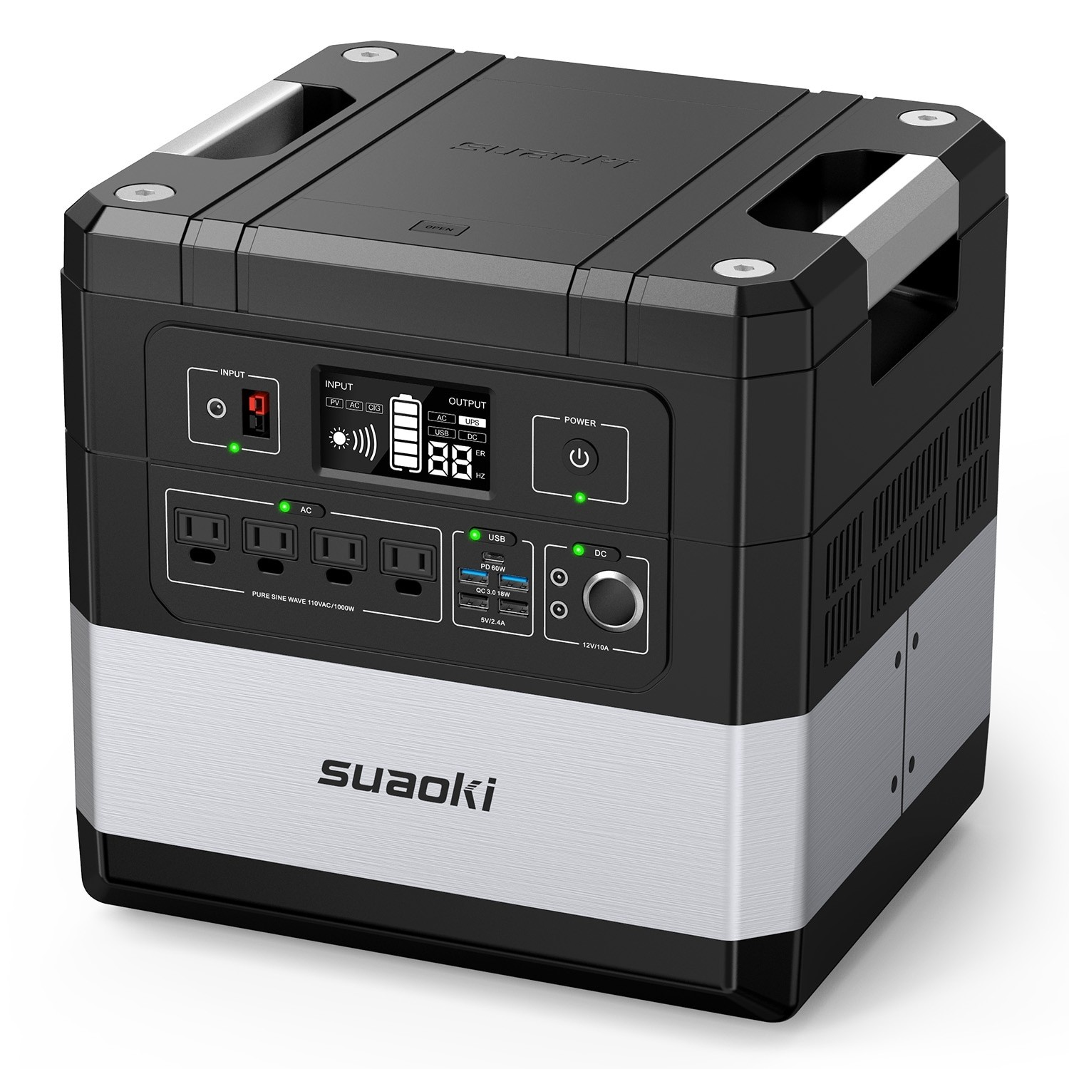 SUAOKI Ares G1000 Power Station 1183Wh Large-Capacity Lithium Battery Generator
