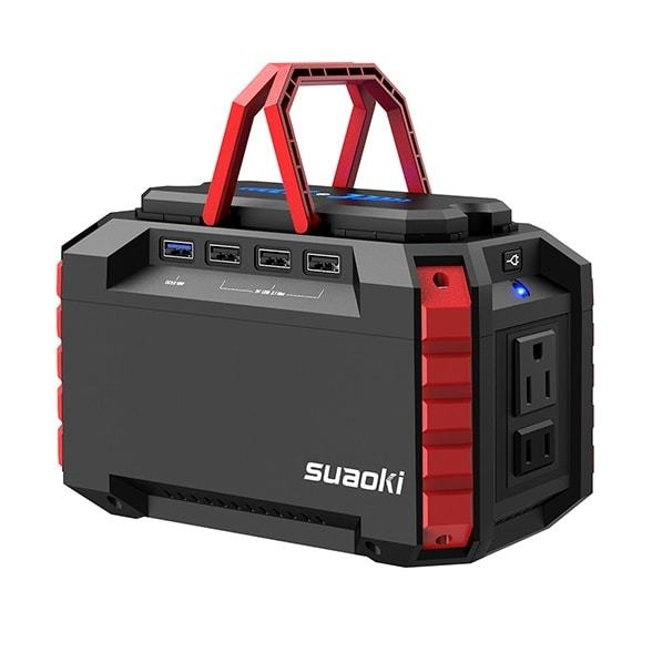 SUAOKI S270 Portable Power Station150WH For Camping